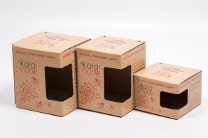 коробки крафтовые