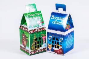 производство новогодних коробок