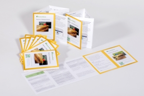 печать рекламных буклетов