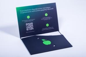 упаковка для банковских карт
