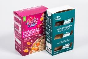 Паковання з картону та гофрокартону: Упаковка для продуктів харчування